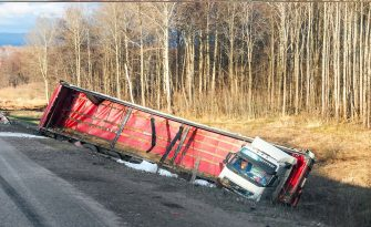 5 Common Types of Trucking Accidents