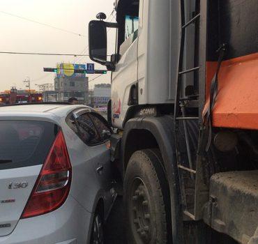 Front Crash-Avoidance Technology for Large Trucks